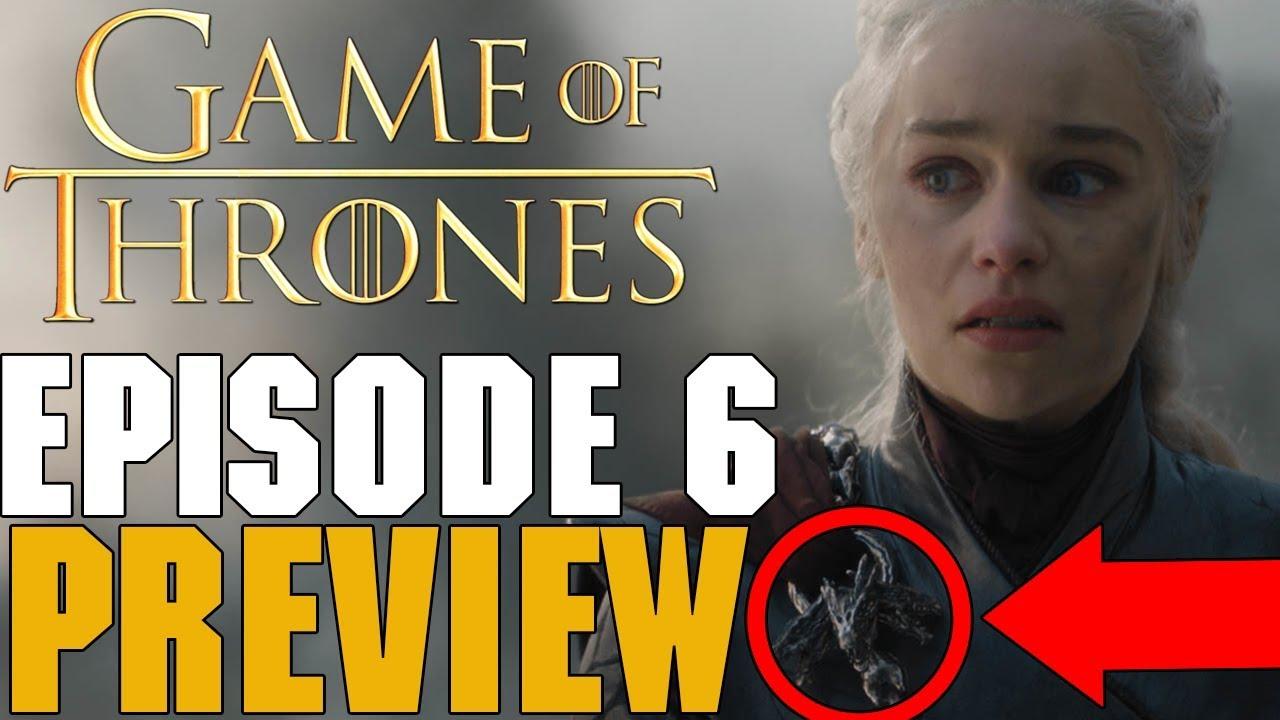 Game Of Thrones Season 8 Episode 6 Preview Breakdown | FINAL EPISODE!! image
