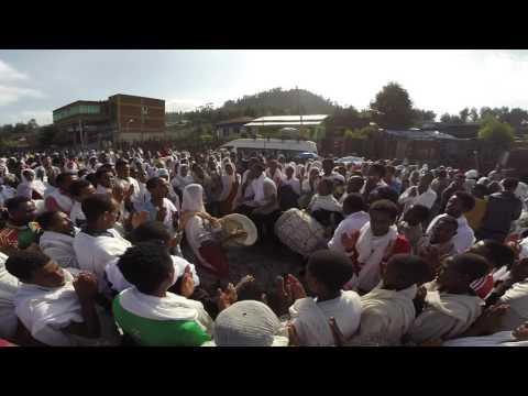 Celebrating Timket (Epiphany) in Korem, Ethiopia