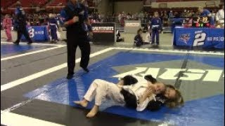 Girl Gets Choked Out! Tournament Highlights