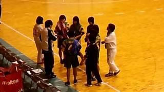 高校ハンドボール2016新人戦_女子_洛北VS田辺(前半)_1