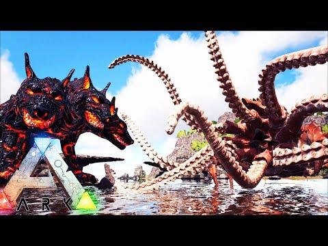 МИФИЧЕСКИЕ СУЩЕСТВА! ОБЗОР МОДА Dragonpunk: Mythical Creatures ► Ark: Survival Evolved