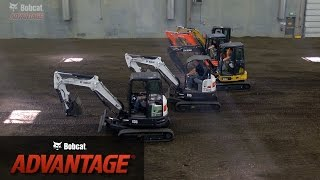 New Bobcat Advantage: Bobcat vs. Other Excavator Brands