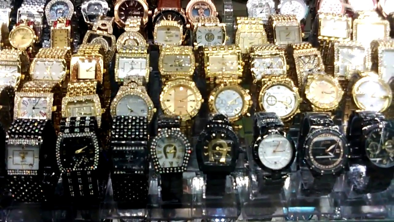 Pasar senen jaya jam tangan mau guess seiko Balmer atau rolex - YouTube 927cd20381