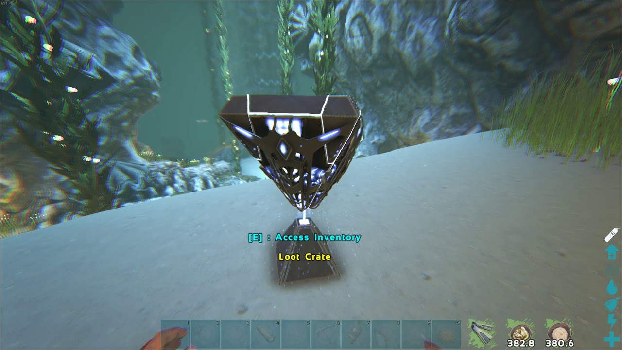 Ark Official PVE Island - Artifact Of The Cunning and loot - very easy,  naked