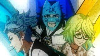 PSP 幕末Rock 超魂 リズムゲームパート楽曲MV ♪不完全パズル [高杉晋作(...