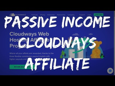 EARN $4694 A MONTH WITH CLOUDWAYS AFFILIATE PROGRAM 💰