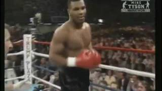 Mike Tyson Intimidation Entrance vs Spinks