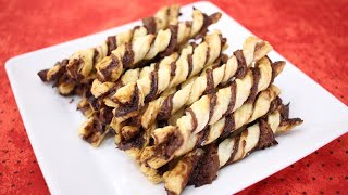 Palitos de Nutella – Muito Crocante