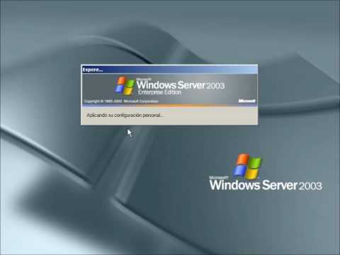 Windows Server 2003 - Inicio y Apagado