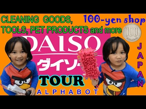"DAISO TOUR in Japan PART 7 -  ""Cleaning Goods, Tools, Pet Products and more"""