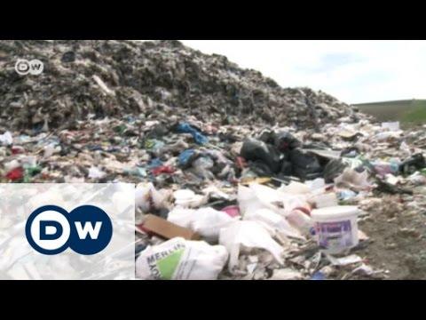 Müllberge in Rumänien | DW Deutsch