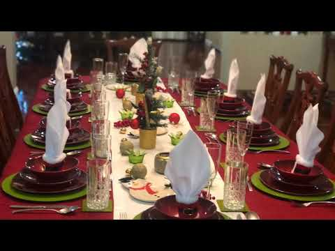 Another Christmas Table Setting
