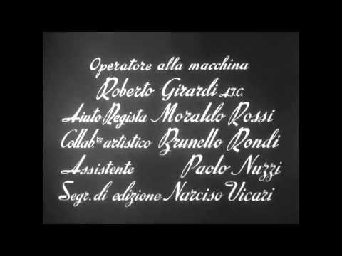 "Fellini -  ""La Strada"" (1954) opening"