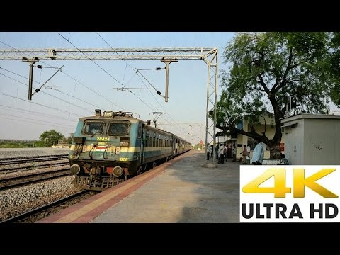 Tirupati Express Overtakes Vijayawada Passenger - Indian Railways