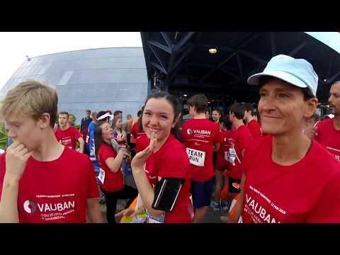 le dossard 11994 à l'ING marathon Luxembourg 2018
