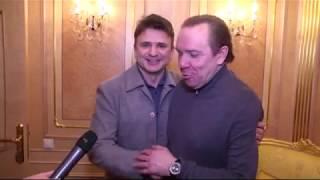 Российский телеведущий Тимур Кизяков  о  юбилейном концерте Владимира Девятова в Кремле.
