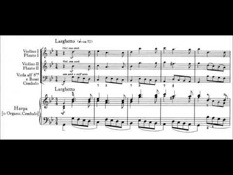 George Frideric Handel - Harp Concerto Op. 4,  No. 6 (1735) [Zabaleta]