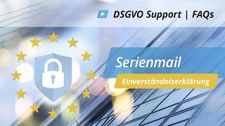 Serienmail in onOffice (DSGVO Einverständniserklärung) | onOffice