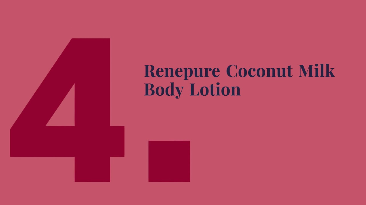 List of Top 5 Coconut Milk Body Lotion India