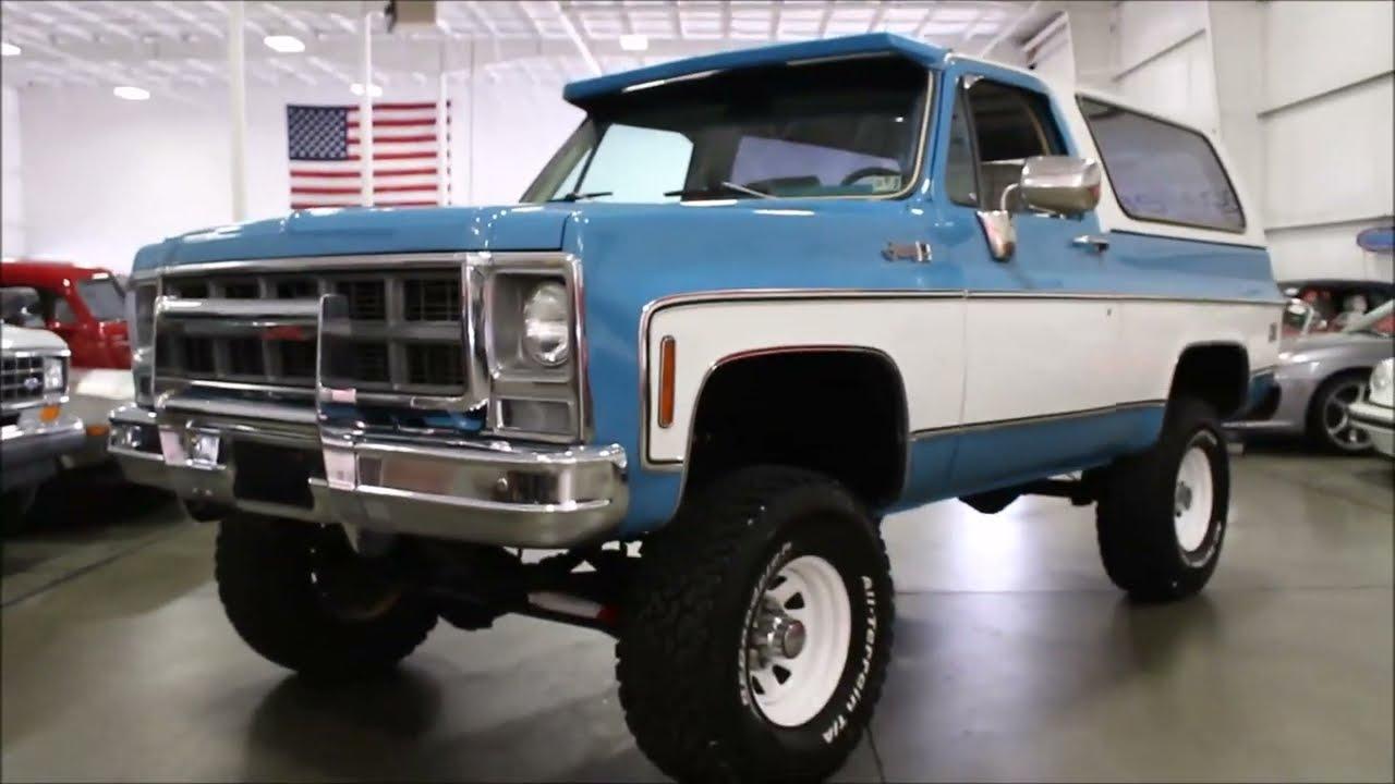 1979 GMC Jimmy Blue