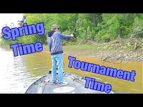 Chattahoochee River Bass Fishing - Lake Harding April Tournament