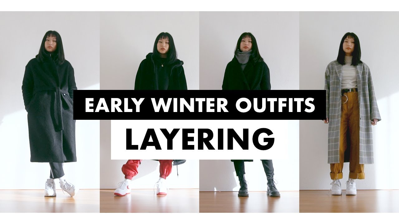 Layering Winter Outfits for Early Winter