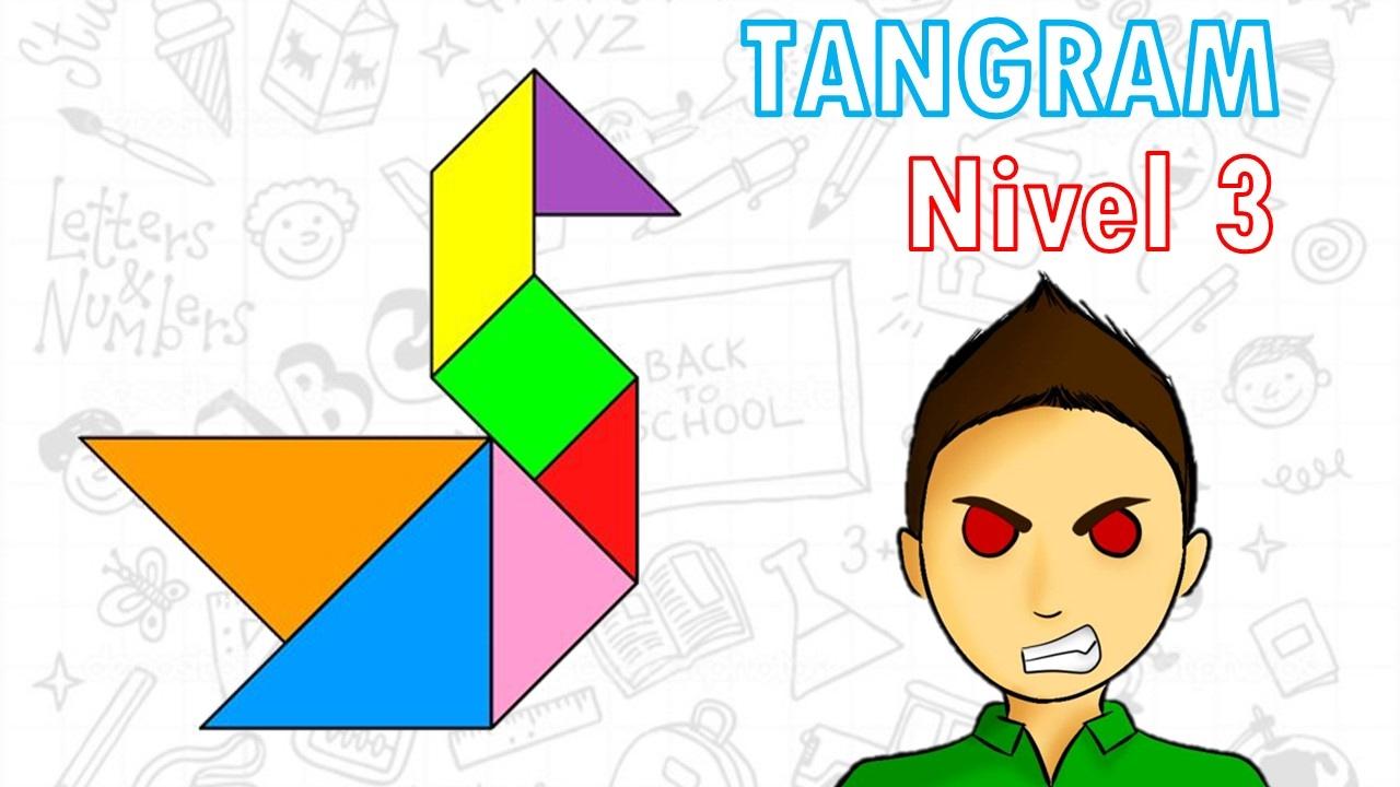 Tangram Para Ninos Nivel 3