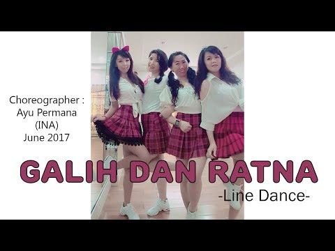 Galih Dan Ratna - Line Dance (Demo&Walk-thru)