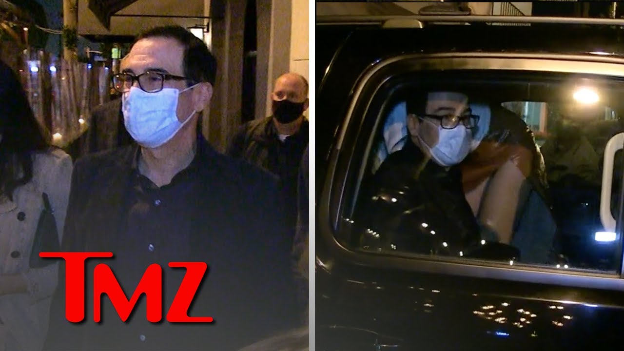 Steve Mnuchin Silent On Trump Inciting Rioters to Go After Mike Pence | TMZ