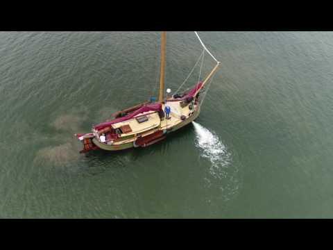 Jet Thruster Dutch classic boat