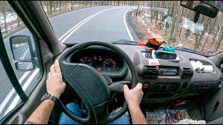 2000 Renault Master II (2.5 D 80 HP)   POV Test Drive #660 Joe Black