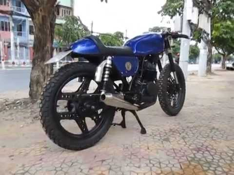 test pô ) ver.66 honda cb125 cafe racer - youtube