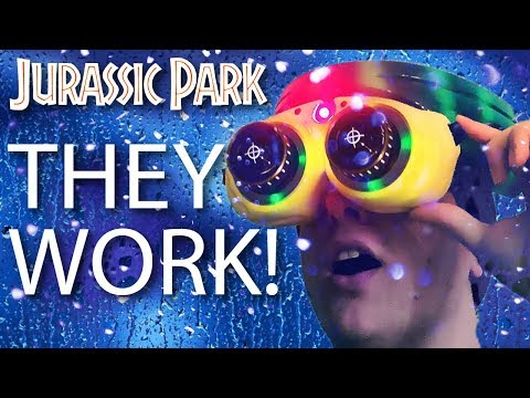 "How I made the Nightvision Goggles from Jurassic Parkâ""¢"