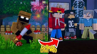 Minecraft College Life #40 - THE STALKER FRAMES ROPO & THE GUYS!!