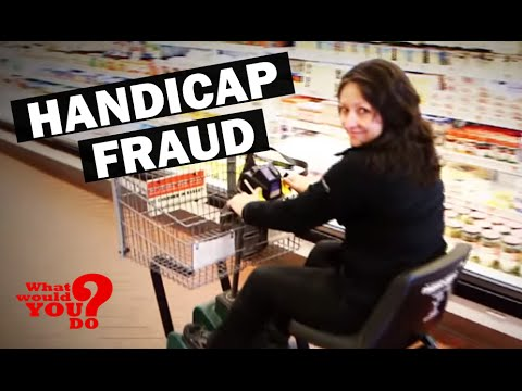 Handicap Fraud | What Would You Do? | WWYD