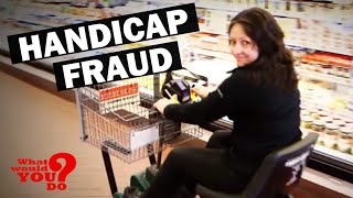 handicap fraud what would you do? wwyd