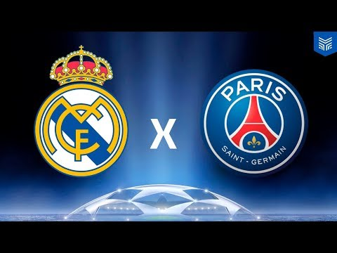 REAL MADRID x PSG - CHAMPIONS LEAGUE (FIFA 18 GAMEPLAY)