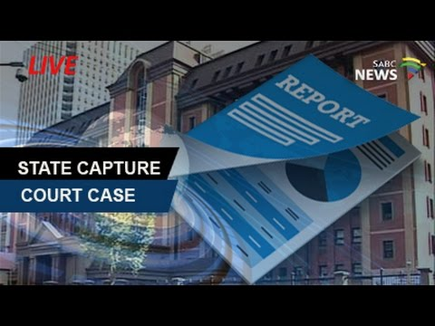 State Capture Report Case, 2 November 2016