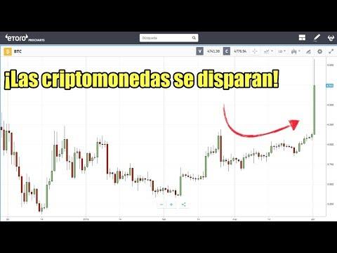 LAS CRIPTOMONEDAS SE DISPARAN | BITCOIN ALCANZA 4,750 USD | ABRIL 2019