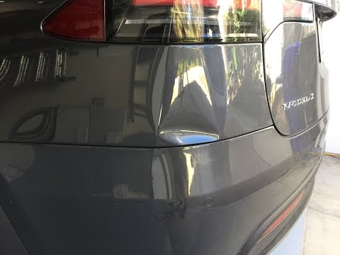 Tesla Model X Paintless Dent Removal