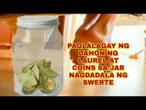 DAHON NG LAUREL AT 10 PESOS COINS SA JAR NAGDADALA NG SWERTE -Apple Paguio7