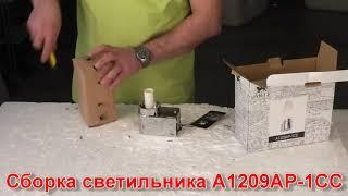 Бра ARTE Lamp A1209AP-1CC  - видеообзор
