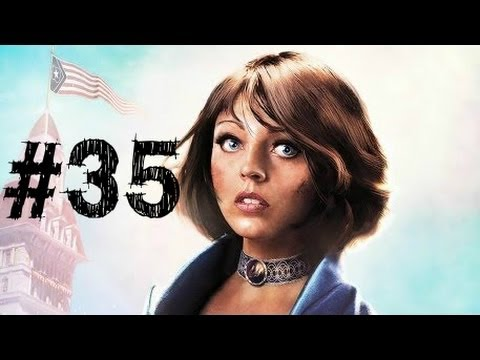 Bioshock Infinite Gameplay Walkthrough Part 35 - Comstock's Airship - Chapter 35