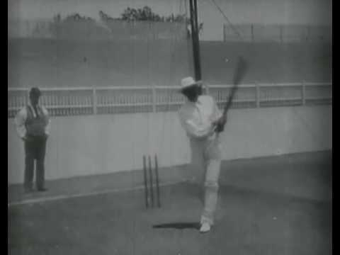 1897 - Earliest Cricket Recording - Kumar Shri Ranjitsinhji