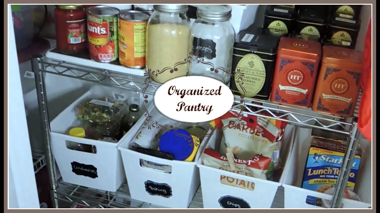 kitchen pantry organization small apartment - Kitchen Pantry Organization Ideas