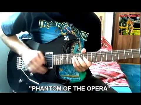 "Iron Maiden - ""Phantom Of The Opera"" cover"