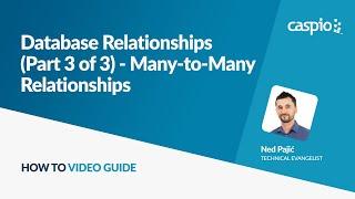 3 (Bölüm 3) veritabanı İlişkileri - Çok-Çok İlişkiler