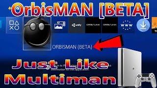PS4 OrbisMAN [ BETA ] The New Multiman For Jailbreak PS4 5.05