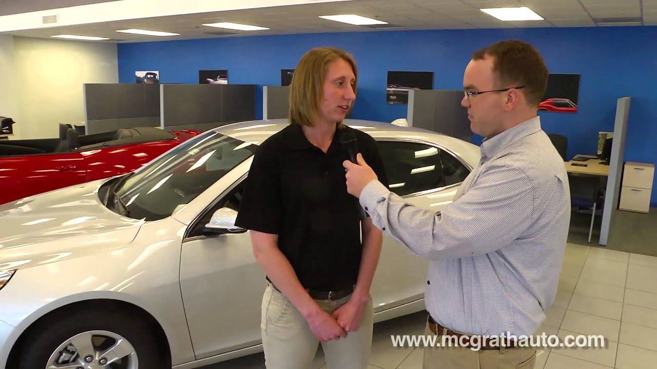 Chevy Malibu in Cedar Rapids Challenges Toyota Camry and Ford Fusion