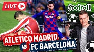 HIT w LaLiga! FC Barcelona gra z Atletico Madrid! Oglądamy! (Bez widoku meczu) - Na żywo